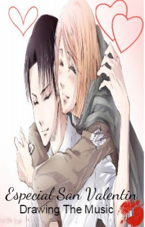 Levi x Petra:Especial San Valentin (Attack On Titans) by DrawingTheMusic