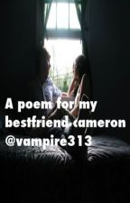 A poem for my best friend cameron by Vampire313
