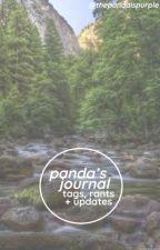 my journal of shit by thepandaispurple
