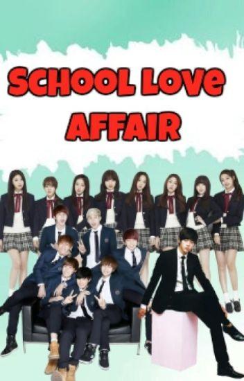 School LOVE Affair || BTSLVLZ FanFic ||