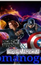 CAPITAN AMERICA Y BLACK WIDOW by RomanogersEvansson