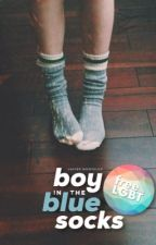 Boy in the Blue Socks  by JTalvo