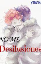 No Me Desilusiones. [Kagehina/Yaoi] by Venuza_