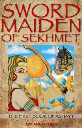SWORD MAIDEN OF SEKHMET by AdrianaNicolas