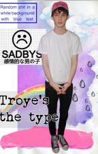 ʚ Troye's the type ɞ by anhepburn
