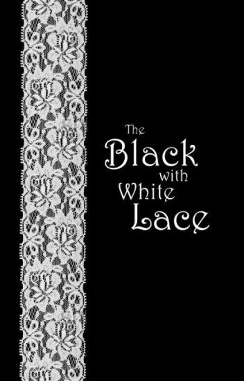Чёрный с белым кружевом