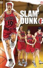 Slam Dunk (Hanamichi Sakuragi) by marinbl