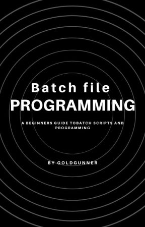 Batch File Programming - Basic Animation - Wattpad