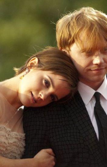Junto al río Támesis (Emma Watson y Rupert Grint) [Grintson]
