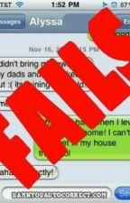 Funny Texts And Autocorrects by jadeemmajennings