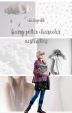 Harry Potter Character Aesthetics by viikstar