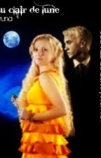 au clair de lune  Draco and Luna  by hausoffame
