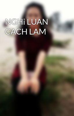 Đọc truyện NGHi LUAN CACH LAM
