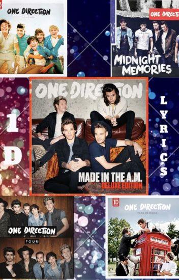 One Direction Lyrics✔️