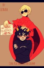Cool kid and mister grumps (davekat) by LETRASH