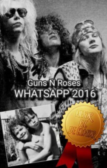 Guns N' Roses Whatsapp 2016