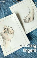 crossing fingers⇋c.d by -mxddie