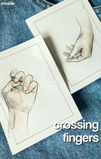 crossing fingers↷c.d