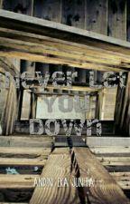 Never Let You Down by andiniekajunita