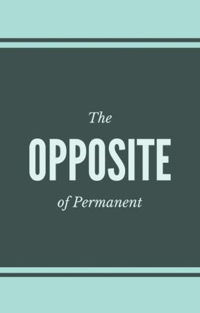 The Opposite of Permanent by wearetheminority