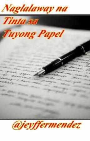 Naglalaway na Tinta sa Tuyong Papel by jeyffermendez
