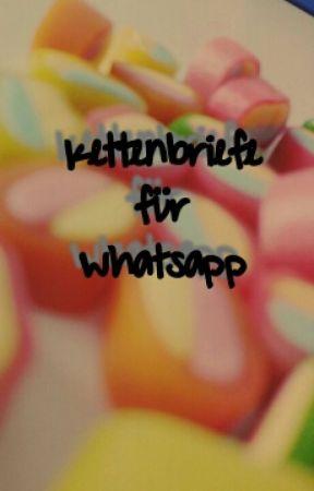 Kettenbriefe Für Whatsapp Lösung Zum Kb Wattpad