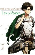 Levi x Reader | Glad to meet you, Corporal! by vakashi10