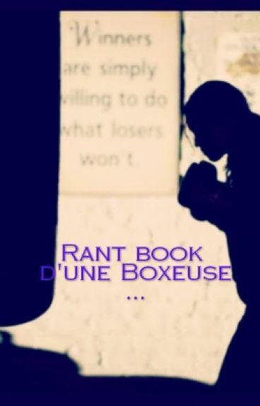 Rant Book D'une Boxeuse