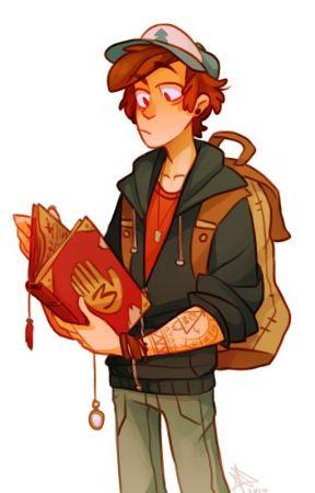 Older Dipper X Male demon Reader by FlameFighterDragon