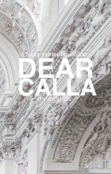 dear calla ⚯͛ f. weasley [BOOK 2]