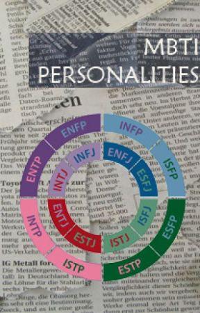 MBTI personalities - As Kisses - Wattpad