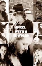 Angel with a shotgun. [Carl Grimes] by xdarkmind