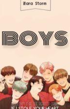 7 chicos y yo~ (BTS fanfic) by zaraStorm
