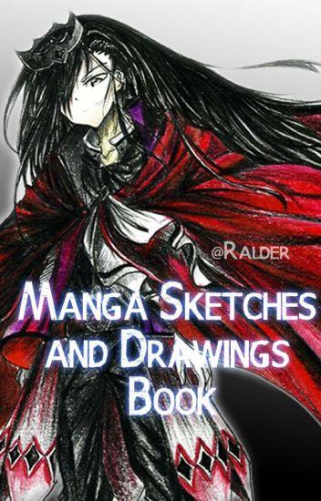 Manga Sketches and Drawings Book