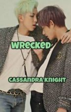 Wrecked (BTS) (VMon) (Taehyung) (V) (Rap Monster) by GlamArmyGirl93