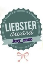 Liebster Award by any_onee