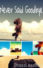Never Said Goodbye {Sequel to Another Summer Romance} by StressLessBaby
