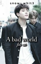 ➵ a bad world for us; jooheon by snow-whit3