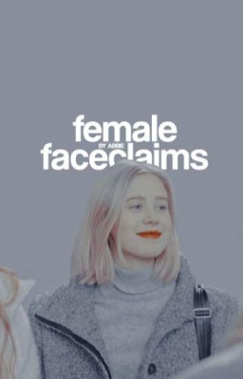 ( female faceclaims. )