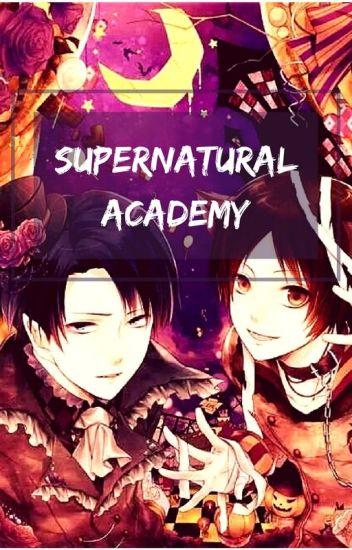 Supernatural Academy (Levi x Eren)