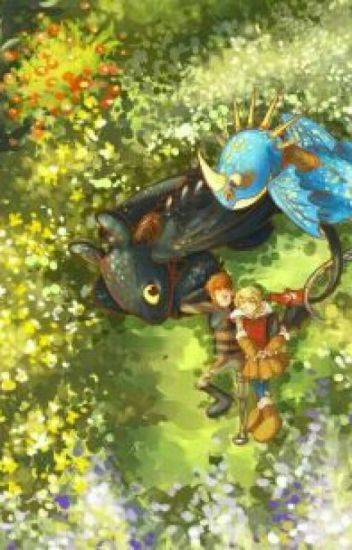 httyd book 1  toothless and stormfly - nightngale