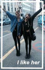 i like her / / lesbian by alexsandranaomi