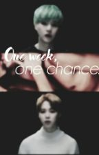 One week, one chance . (Yoonmin) by nxem_e