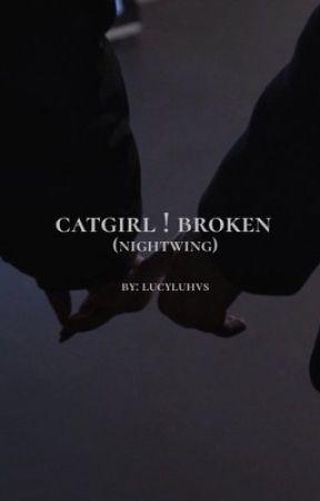 Catgirl:Broken(Nightwing) by brooklyn_writes