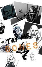 Try me, Bones. (Gaster!Sans X Reader) Wattys2016 by Silverhaunter