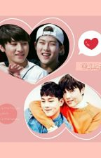 Can you look at me? | Jooheon x I.M x Seungwoo | Monsta X Fanfic by Ajengim
