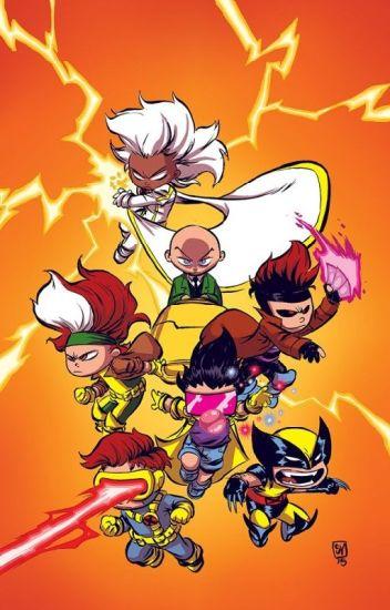 X-Men x Baby Mutant!Reader