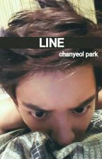 line • chanyeol park by pchyxo