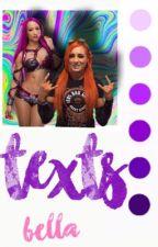 Texts//Sasha & Becky by charlottesflair
