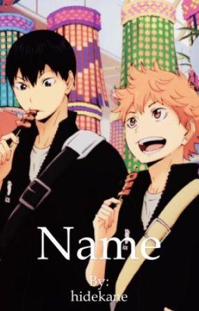 Name || Soulmate AU by hidekane
